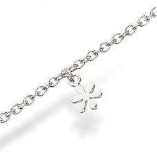Blomst armbånd - Sølv