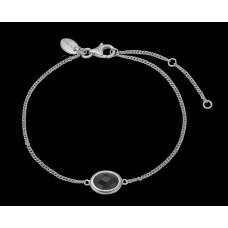 Christina Black Onyx armbånd