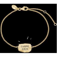 Christina Carpe Diem armbånd - Forgyldt