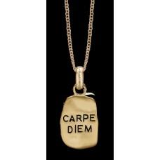 Christina Carpe Diem vedhæng - Forgyldt
