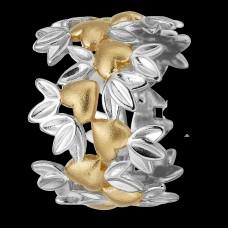 Christina My Loving Nature ring - Forgyldt