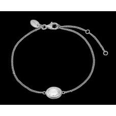 Christina White Crystal armbånd
