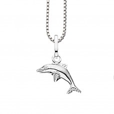 Delfin halskæde - Sølv