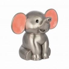 Elefant Sparebøsse - Fortinnet