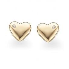 Guld ørestikker - 8 karat