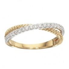 Guld ring - 14 karat