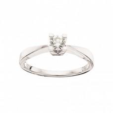 Kleopatra ring 0,20 W/SI - 14 karat