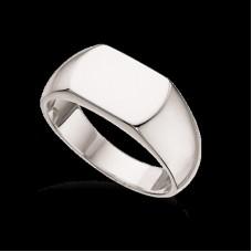 Scrouples herre ring - Sølv