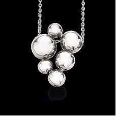 Sølv kæde med vedhæng - Sølv
