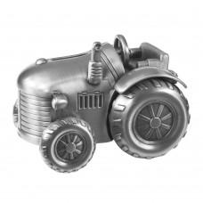 Traktor sparebøsse - Fortinnet