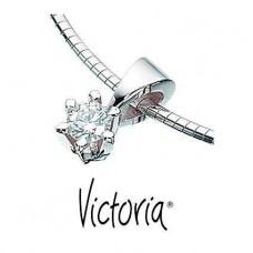 Victoria vedhæng 0,05 TW/SI - 14 karat